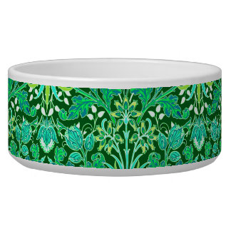 William Morris Hyacinth Print, Emerald Green