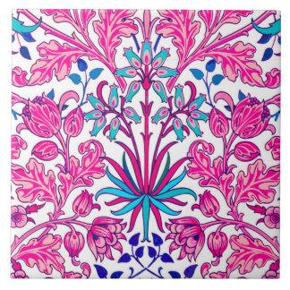 William Morris Hyacinth Print, Fuchsia Pink Tile