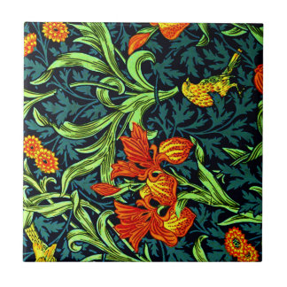 William Morris - Iris Tile