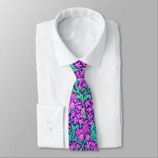 William Morris Irises, Amethyst Purple Tie