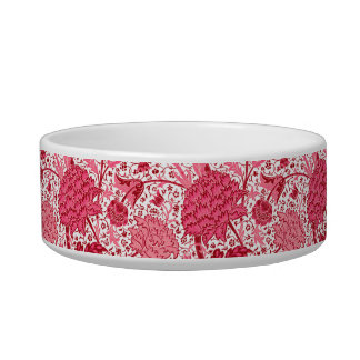 William Morris Jacobean Floral, Coral Pink Bowl