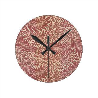 William Morris Larkspur Wall Clock