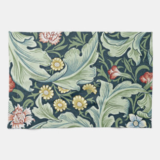 William Morris - Leicester vintage floral design Tea Towel