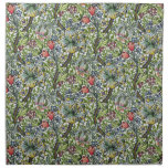 William Morris Lily Floral Chintz Pattern
