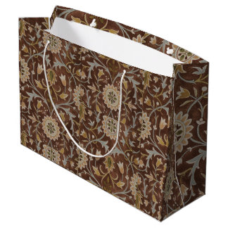 William Morris Little Flower Carpet Large Gift Bag