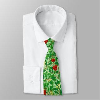 William Morris Lychee Tree Pattern, Light Green Tie