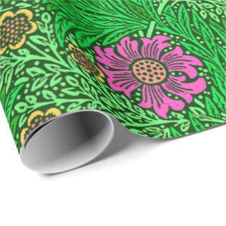 William Morris Marigold, Emerald Green & Fuchsia