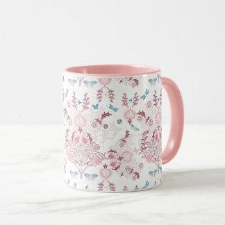 William Morris Mauve Mug