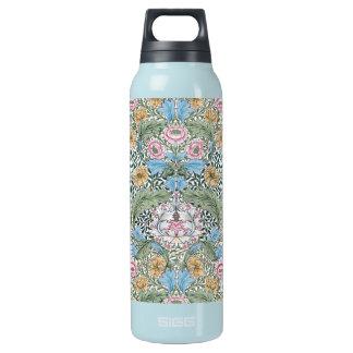 William Morris Myrtle Chintz Pattern Insulated Water Bottle