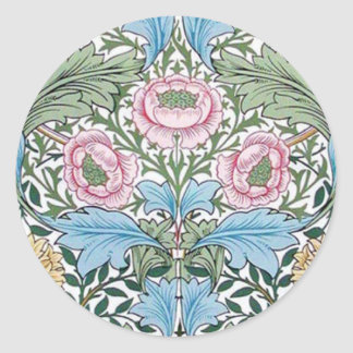 William Morris Myrtle Chintz Pattern Stickers