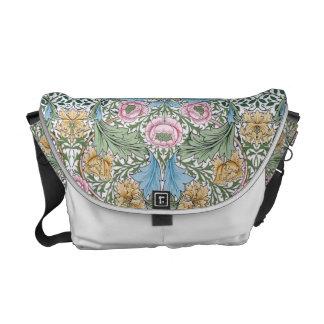 William Morris Myrtle Floral Chintz Pattern Courier Bag