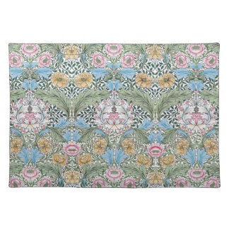 William Morris Myrtle Floral Pattern Placemat