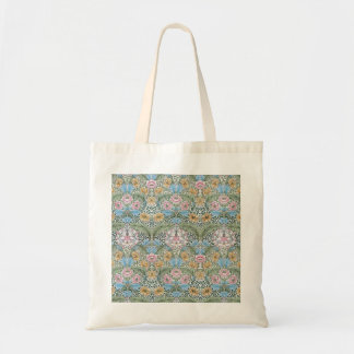 William Morris Myrtle Floral Pattern Tote Bag