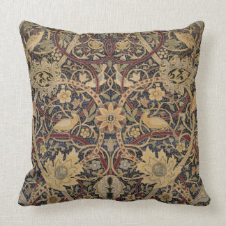 William Morris Pattern Cotton Throw Pillow