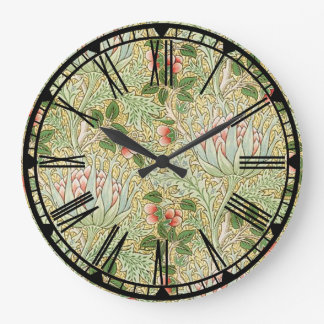 William Morris Pattern Wall Clock