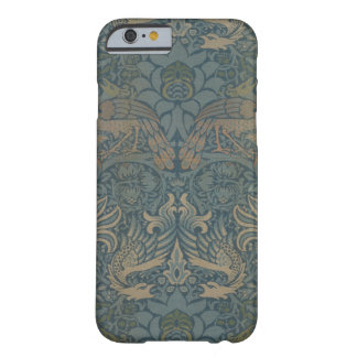 William Morris Peacock and Dragon GalleryHD Barely There iPhone 6 Case