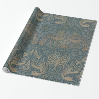 William Morris Peacock and Dragon GalleryHD Wrapping Paper