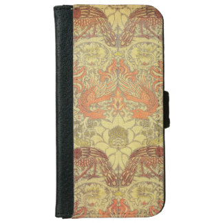 William Morris Peacock and Dragon Pattern iPhone 6 Wallet Case