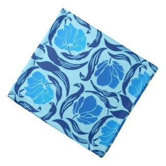 William Morris Pimpernel, Denim & Light Blue Head Kerchief