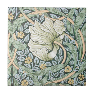 William Morris Pimpernel Floral Design Tile