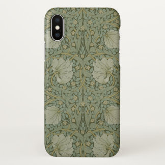 William Morris Pimpernel Vintage Pattern GalleryHD iPhone X Case