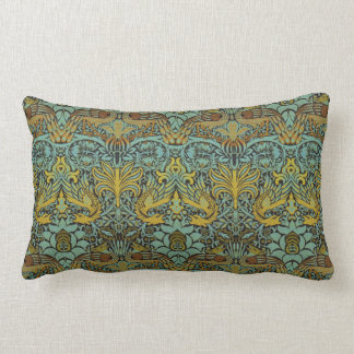 William Morris Pre-Raphaelite Dragon Pillow