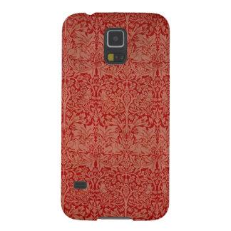 William Morris Red Curtain Pattern Phone Case