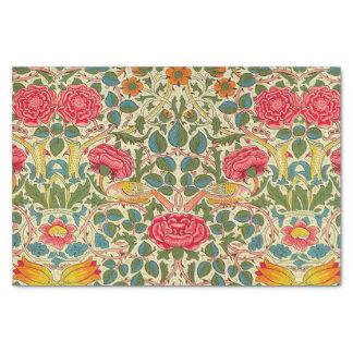 William Morris Rose Floral Vintage Tissue Paper