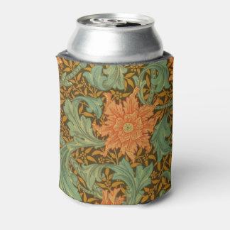 William Morris Single Stem Pattern Art Nouveau Can Cooler
