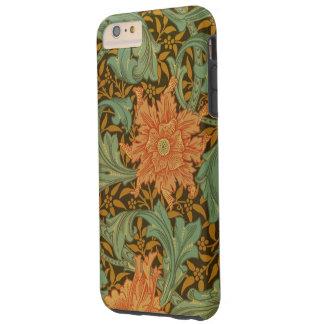 William Morris Single Stem Pattern Floral Vintage Tough iPhone 6 Plus Case