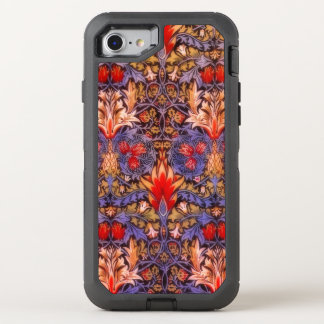 William Morris Snakeshead Decorative Pattern OtterBox Defender iPhone 7 Case