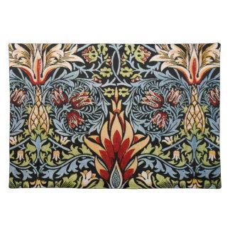 William Morris Snakeshead Floral Design Place Mat