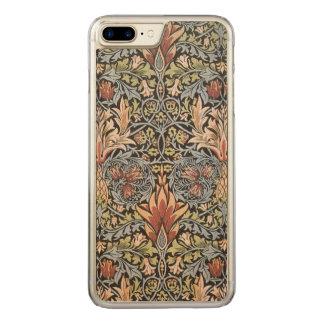 William Morris Snakeshead GalleryHD Vintage Art Carved iPhone 8 Plus/7 Plus Case