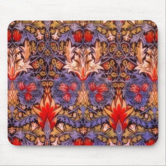 William Morris Snakeshead Vintage Floral Mouse Pad