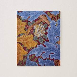 William Morris St. James Vintage Floral Design Jigsaw Puzzle