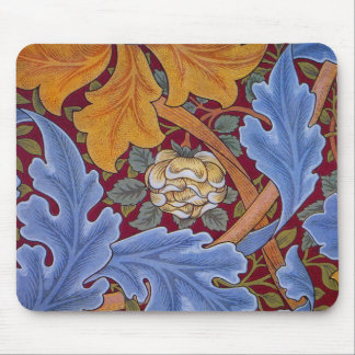 William Morris St. James Vintage Floral Design Mouse Pad