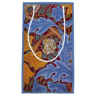 William Morris St. James Vintage Floral Design Small Gift Bag