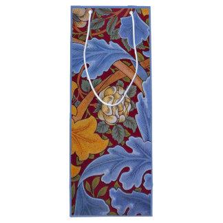 William Morris St. James Vintage Floral Design Wine Gift Bag