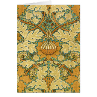"William Morris ""St.James's Palace"" Card"