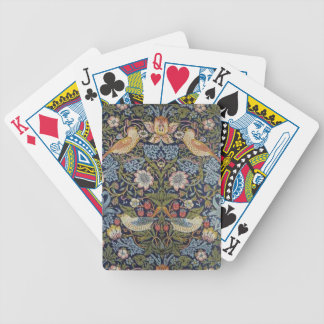 William Morris Strawberry Thief Design 1883 Bicycle Playing Cards