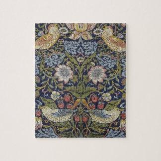 William Morris Strawberry Thief Design 1883 Jigsaw Puzzle