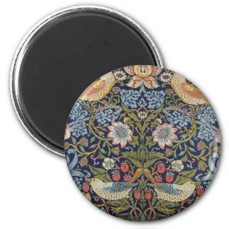 William Morris Strawberry Thief Design 1883 Magnet