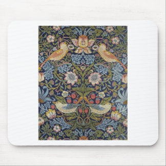 William Morris Strawberry Thief Design 1883 Mouse Pad