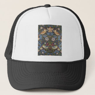 William Morris Strawberry Thief Design 1883 Trucker Hat