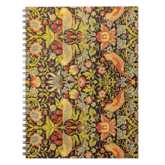 William Morris Strawberry Thief Pattern Notebooks