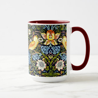 William Morris: Strawberry Thief vintage design Mug