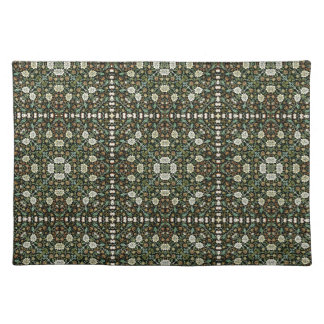 William Morris Style Wallpapered Forestry Pattern Placemat