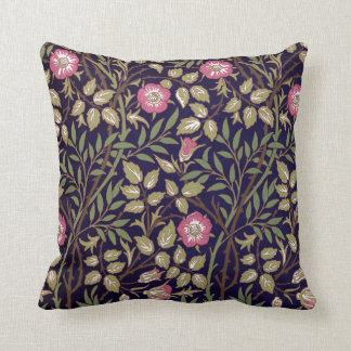 William Morris Sweet Briar Floral Art Nouveau Cushion