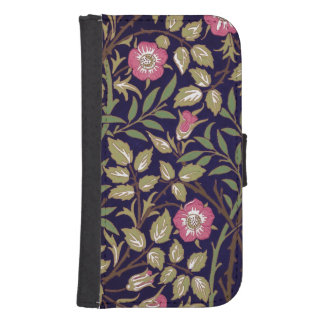 William Morris Sweet Briar Floral Art Nouveau Samsung S4 Wallet Case