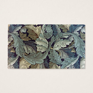 William Morris Textile Acanthus Leaves Business Card